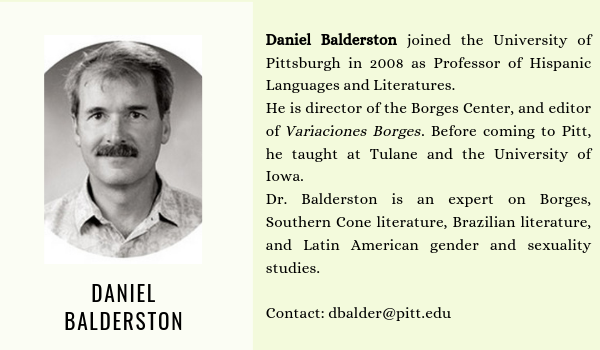 Daniel Balderston